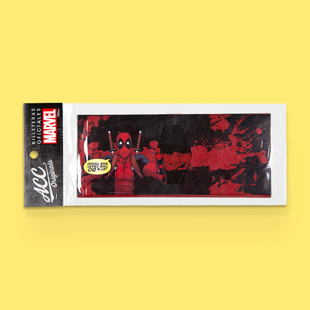 Billetera Marvel en Tyvek®